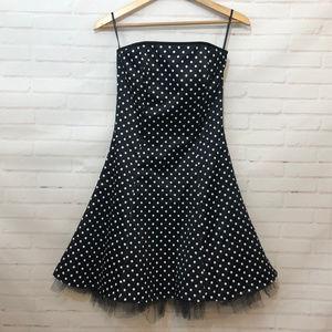 Jessica McClintock Gunne Sax Polka Dot Dress